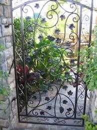 decorative garden gates. Custom Gates Garden Iron Gate Decorative