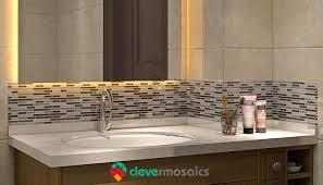 l and stick vinyl tile backsplash for kitchen wall mosaic art