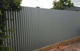 metal fence ideas. Beautiful Ideas Grey Corrugated Metal Fence Peiranos Fences Choosing Within Conventional Fencing  Ideas Extraordinay 7 Picture Size 940x600 Posted By At June 20 2018 Intended N