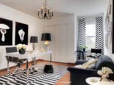white office decors. Contemporary Decors Black U0026 White Office Eclectichomeoffice For Decors