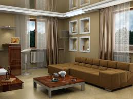 modern living room color. Brown Sofa Living Room Decor Modern Color Schemes With Stained Wall Furniture