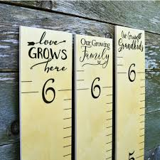 Cute Growth Chart Sayings Wooden Ruler Growth Chart Wood Height Chart Terms Of