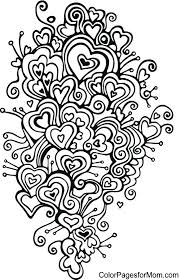 heart mandala color pages mandala coloring pages hearts best of copy heart mandalas heart mandala coloring