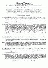 Film Resume Template Mesmerizing Film Resume Template Techtrontechnologies