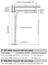 Low Headroom Garage Door Clearance Seewetterbericht Info