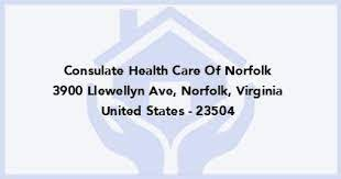 consulate health care of norfolk in norfolk