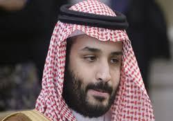 Image result for ولیعهد عربستان گور خود را میکند