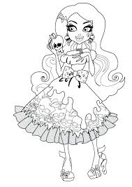 Free Monster Coloring Pages Cute Monster Coloring Pages Free