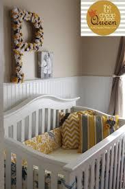 yellow gray nursery tutorials diy custom crib per fun or free