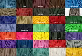 Paracord Color Chart Eagle Cre8tions Paracord And Bullet