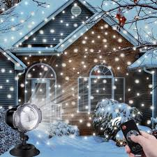 Snowfall Lights Amazon Christmas Projector Light Outdoor Aloveco Led Snowfall