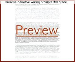 2nd Grade Narrative Writing Prompts Worksheets Creative Narrative