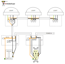 two lights one switch wiring diagram two image wiring diagram for three lights on one switch wiring on two lights one switch wiring
