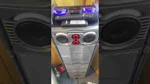 Befree Sound Triple 10 Subwoofer With Party Lights Befree Sound Bfs 6700 2 Way Pa Speaker Review Youtube