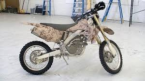 This Is Special Ops Afghanistan Camo Dirt Bike