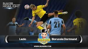 Highlights Lazio Vs Borussia Dortmund Champions League Group F Matchday 1  2020/21