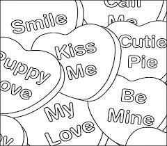 Free Printable Heart Color Sheets Heart Coloring Pages To Print St