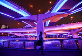 neon lighting for home. LED Lights Have Replaced Neon On These Road Overbridges In China. Picture: Feng Li/Getty Images Lighting For Home
