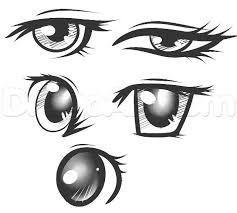 How To Draw Eyes Step By Step Anime Drawing Eye