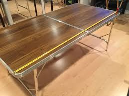 i used a collapsible table for mine but you can make this for any table you wish