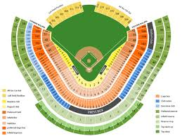 Dodgers Seating Chart With Rows Dodger Stadium Seating Chart And Tickets