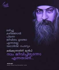 Pin By Santosh Pulikkal On Osho Malayalam Quotes True Quotes