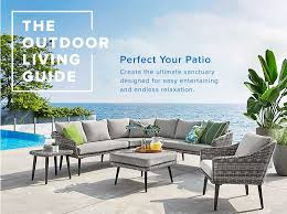 thebay furniture. Wicker Patio Furniture With Gray Cushions And More At Thebay.com. Thebay I