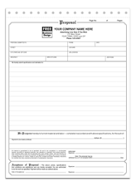 sample bid proposal template roofing estimates templates free download