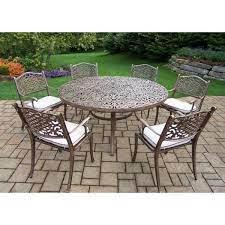 7 piece aluminum outdoor dining set