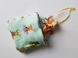 diy ornament storage pouch