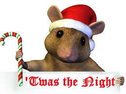 The Christmas Mouse - Greenwood Calendar
