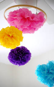 Paper Flower Mobiles 5 Fun Ideas For Decorating With Paper Flowers The Maker Girl