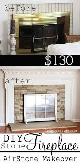 how to make over an ugly fireplace love the cover up an old window