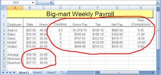 Excel Payroll Formulas Rome Fontanacountryinn Com