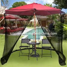 china outdoor patio umbrella mosquito