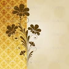 Background Decorations Design Vintage Flower Background Vector Vintage Floral Background