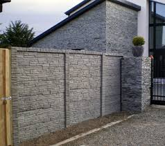 Small Picture Concrete Fence Designs Ideas about concrete fence on pinterest brick