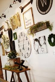 eclectic farmhouse gallery wall 5 simple gallery wall ideas