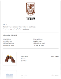 Receipt Email Template Tutorial How To Code A Receipt Email Template With Mjml