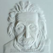 3d white stone carving wall art panels
