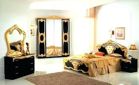 italian high gloss furniture. Italian High Gloss Bedroom Furniture Set Black Gold  Dining .