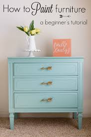 How to paint furniture a beginner s tutorial Practically Hippie