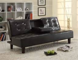 Living Room  Wonderful Brown Futon Sofa Best Images About On Twin Futon In Living Room