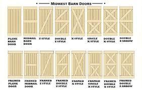 barn door styles style image collections doors design modern