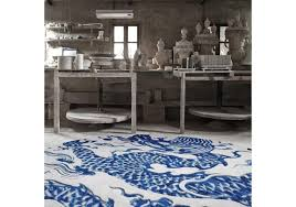 cadeneta blue china rug gan