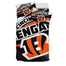 colorful shine amazing cincinnati bengals bedding sets cinci on comforter sets twin full queen size mint