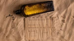 letter in a bottle oldest message in a bottle found on western australia beach bbc news