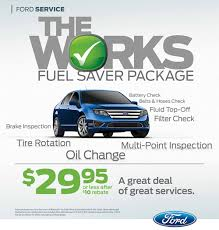 ford works 2nd event service specials bickford motorsports