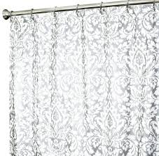 fabric shower curtains damask silver to enlarge funny black bear shower curtains shower pics avanti