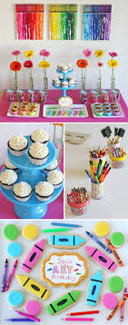 Decoration Stuff For Party 17 Best Ideas About Art Party Decorations On Pinterest Art Party